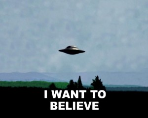 Xfiles I want to believe