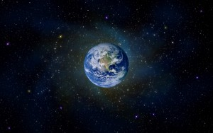 Planet earth (artists impression_